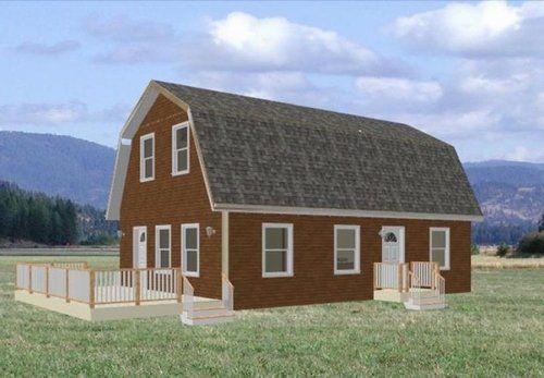 24 X 36 Gambrel Roof Cabin Cabin Plans24 X 36 Gambrel Roof