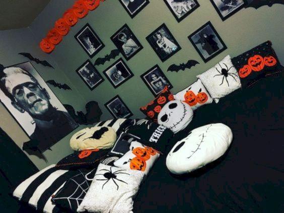Cool Halloween Decor For Kids Room 15 #halloweendecorationsforkids