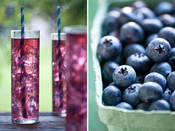 La myrtille s'invite dans vos verres cet été ! #cocktail #afterwork
