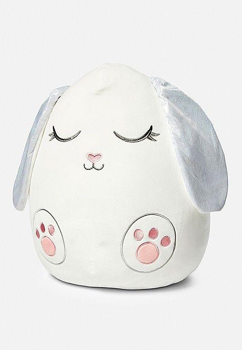Daisy The Bunny Squishmallow Justice Girls Bedroom Unicorn Cute Pillows Pusheen Plush