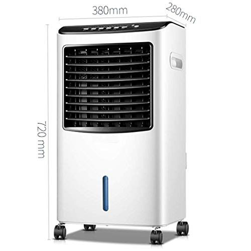 Pllp Home Living Room Bedroom Fan Portable Mobile Air Conditioner
