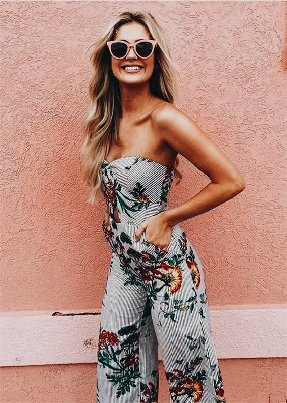 Spring Style | Trvl Porter  travel trends, spring edition, spring outfits, inspo, floral, stripes, fringe, lace, bohemian hats, rompers, long pants, dresses, skirts, boho look, casual look, cute sunnies