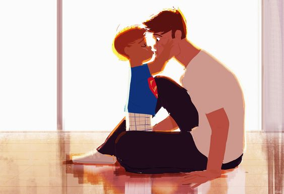 Pascal Campion—How to give a kiss.