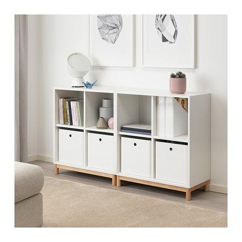 Kuggis Pojemnik Bialy Zamow Tutaj Ikea Cube Storage Decor White Storage Box Ikea Storage