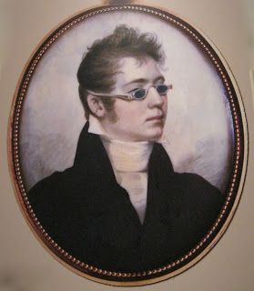 Two Nerdy History Girls: Tinted Glass Spectacles, c. 1830: