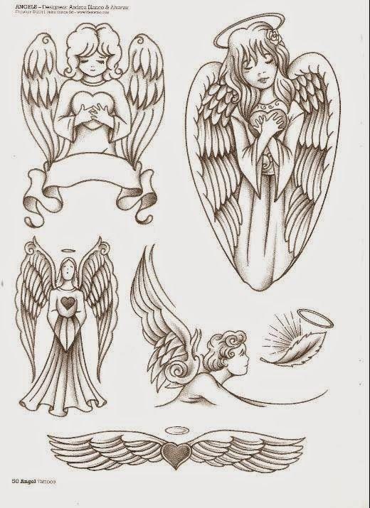 Los Mejores Tatuajes De Angeles Para Chicas Femeninos Y Llenos De Fuerza Tatuaje Angel Angeles Dibujos Como Dibujar Cosas