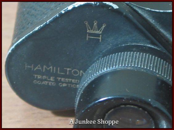 HAMILTON 6 x 30 Porro Binoculars Knockoff Of German Dienstglas 1962 Model   Junk0897  http://ajunkeeshoppe.blogspot.com/