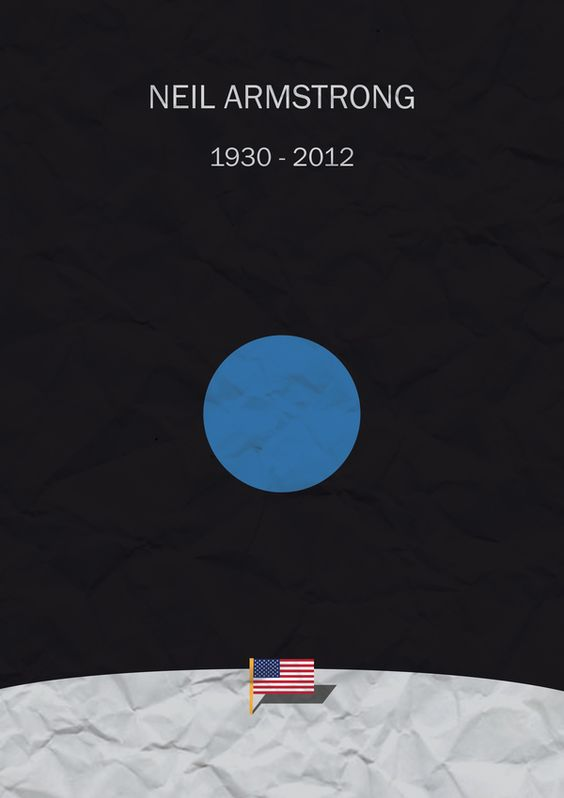 neil armstrong poster idea - photo #41