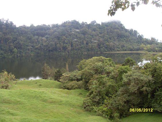 Laguna de Pedro Palos,Tena Cund.,Colombia Foto de Nirza López