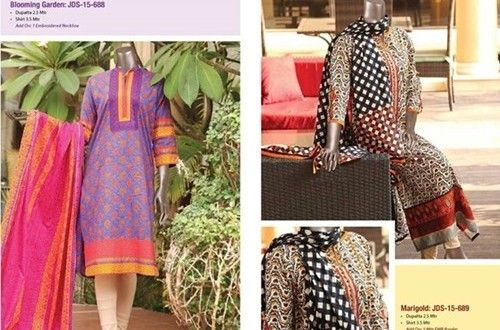 Junaid Jamshed Lawn Collection 2015  It's time for Junaid Jamshed lawn 2015! J. Has come to be one...