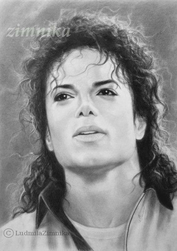 Michael jackson, Portrait and Pencil drawings on Pinterest  Michael jackson...