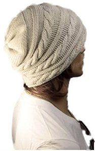 Unisex Oversized Knit Baggy Beanie Hat Cap Cable Knit Hat (Cable-Hat-Beige) Hanson,http://www.amazon.com/dp/B00ENU1HSM/ref=cm_sw_r_pi_dp_6BAptb1F0VV78VN2