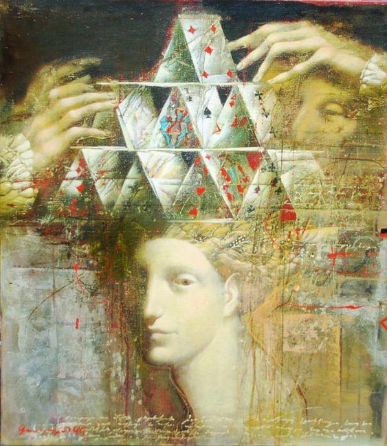 Armen Gasparian 1966 | Russian symbolist painter:
