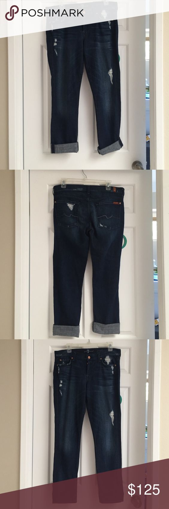 "7 for all man kind ""Josefina"" skinny boyfriend Never worn 7 for all Mankind Jeans Boyfriend"
