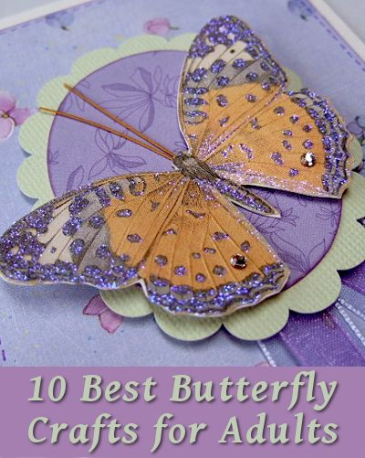 10 best butterfly arts and crafts for adults easy crafts for Simple arts and crafts for adults