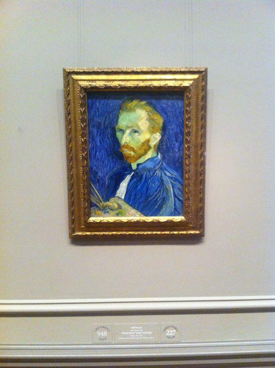 Self-Portrait 1889  Vincent van Gogh