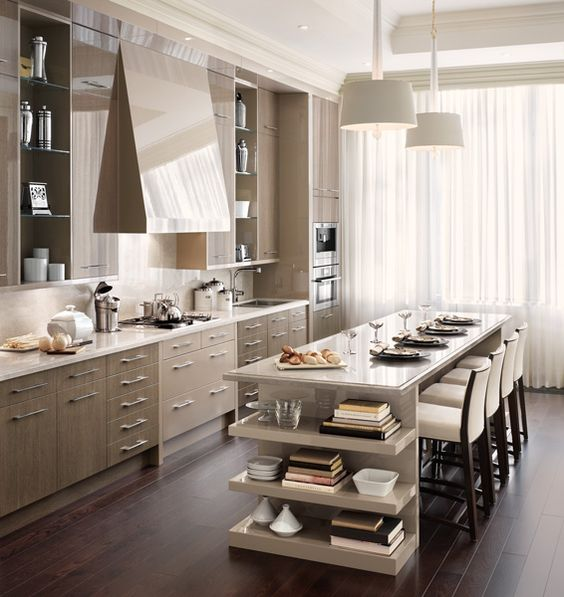 Contemporary | Downsview Kitchens and Fine Custom Cabinetry | Manufacturers of Custom Kitchen Cabinets. Available at Astro Home Design Centre in Ottawa.: