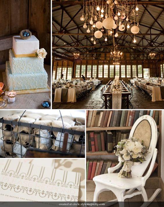 Rustic and Elegant Wedding Ideas