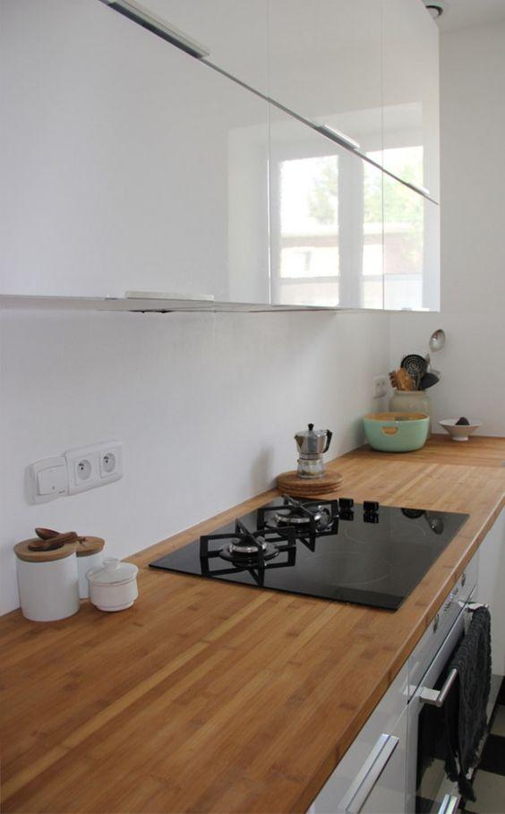 Comptoirs en bois, Cuisine and Meubles de cuisine on Pinterest ~ Cuisine Comptoir Bois