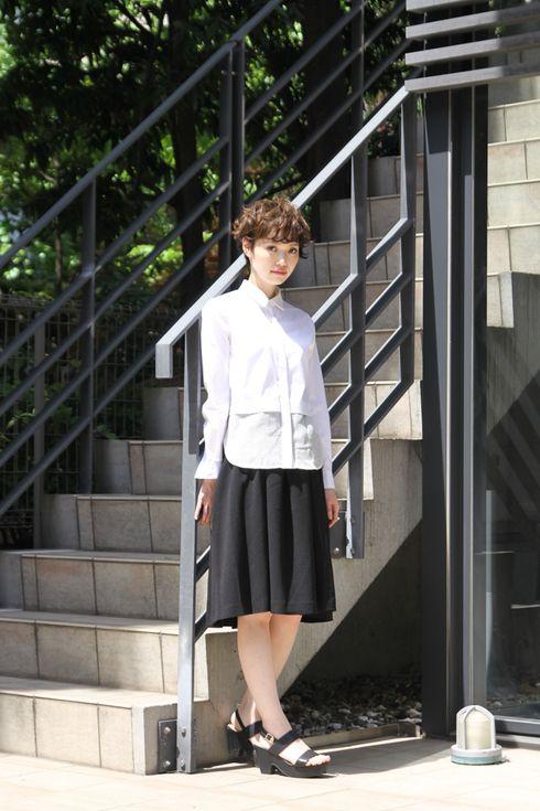 ストリートスナップ青山 - 杉崎叶美さん - H&M, OPENING CEREMONY, エイチアンドエム, オープニングセレモニー