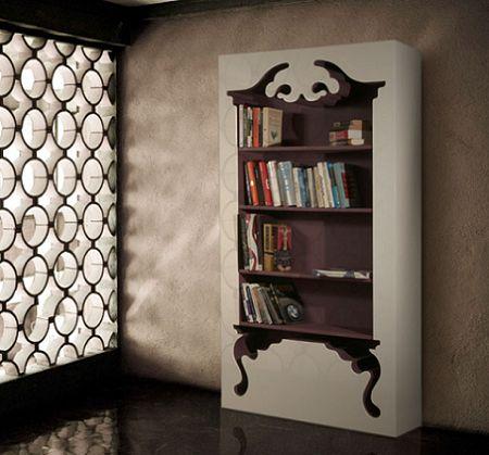 vintage bookshelf . munkii