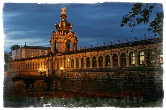 Zwinger, Dresden, Sachsen, Germany