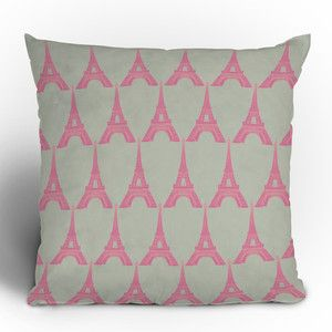Oui Oui Throw Pillow 16x16 now featured on Fab.