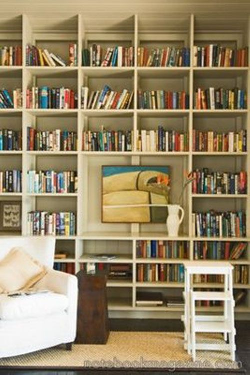 """I have always wanted a """"library"""" in my home.  One day!"""