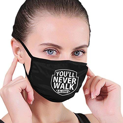 Kujrrki You Ll Never Walk Alone 1892 Unisex Fashion Dust Masks Stylish Pattern Face Mask For Men Women Outdoor Activities Buyerstops Masken Mund Cool