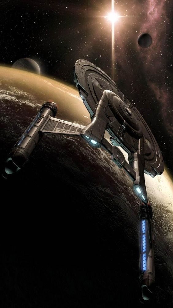 Space ship, Star trek enterprise and Star trek on Pinterest