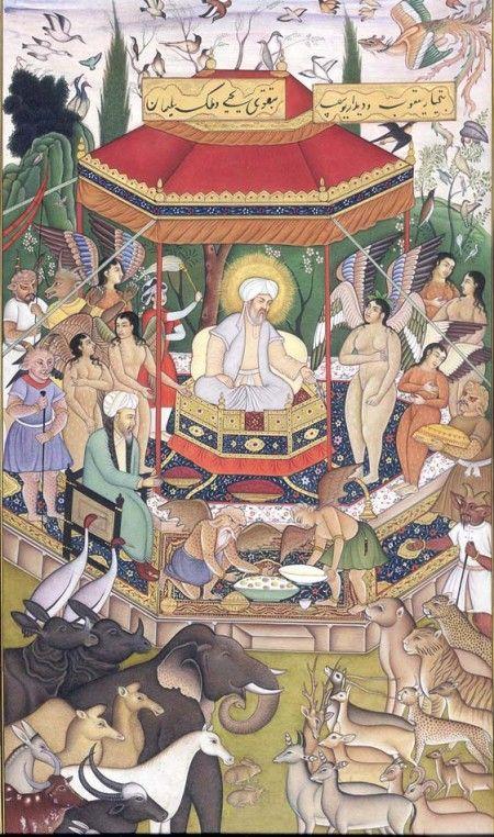 The Court of Solomon, the Legendary King of Israel
