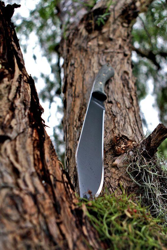 Condor 24411HCM Boomslang Knife, Black 11.5 Inch 1075HC Blade, Micarta Handle, Black Leather Sheath