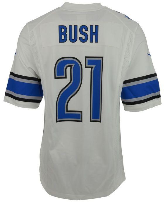 Nike Men's Reggie Bush Detroit Lions Game Jersey