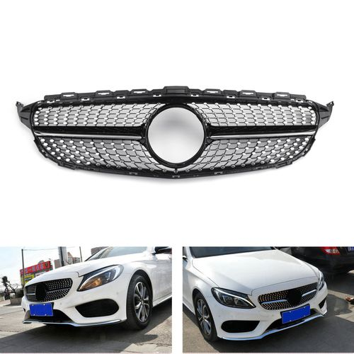 License Plate Bracket For 2015-2018 Mercedes Benz C300 w// AMG Package Front