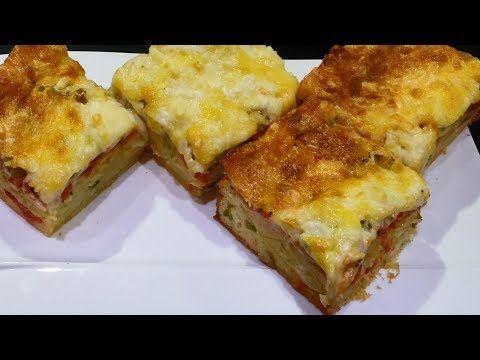 طريقة عمل كيكة البيتزا من مطبخ منى وشيماء Youtube Food Breakfast Quiche