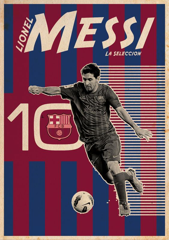 Messi I am Number Ten, by Kareem Gouda Soccer #football
