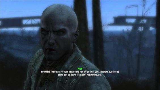 Fallout 4 Random Encounter: Self Admitted Synth