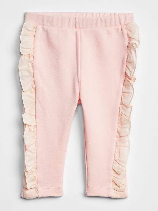 Gap Ruffle Pull On Pants Ropa Linda Para Ninas Pantalones Para Ninos Ropa De Nina Moderna