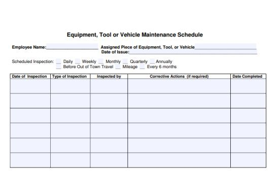 Equipment Maintenance Log Template 20 Free Templates In Word Pdf And Excel Documents Template Sumo Preventive Maintenance Maintenance Document Templates