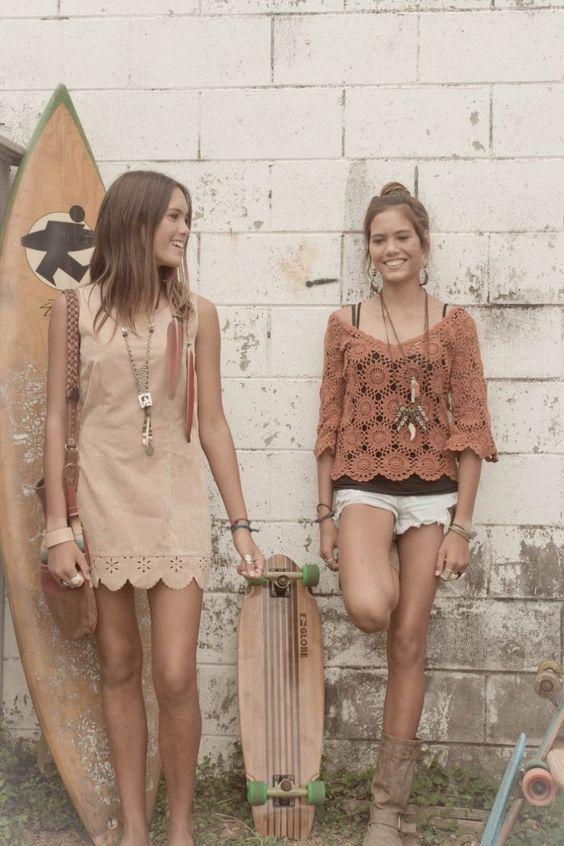vestido-camurça-moda-sued-suedine-dress-look-boho-praia: