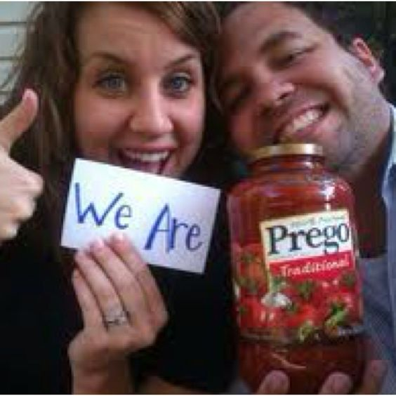 Awesome Pregnancy Announcement.