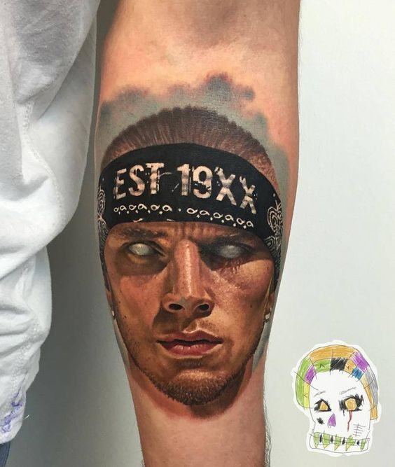 machine gun kelly tattoos - photo #32