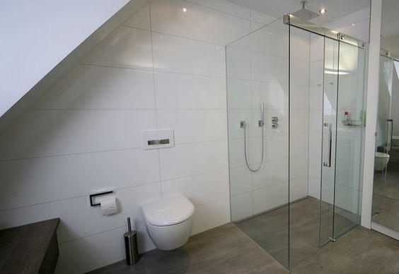 Bad grau Łazienka Pinterest Bath, Interiors and Loft bathroom
