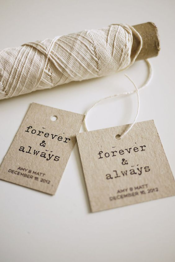 Diy Printable Wedding Favor Tags : DIY Printable Favor Tags Forever and Always by ThreeEggsDesign, USD7.00 ...