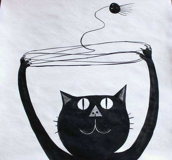 Cats Cradle for 'The Cat's Whiskers' book by Hazel Terry, via Flickr