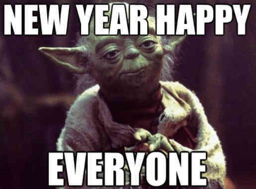 Happy New Year 2019 Funny Happynewyear2019funny Yoda Quotes Dance Memes Dance Quotes