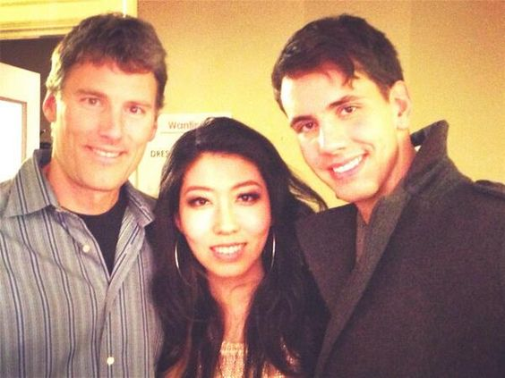 With Wanting and Vancouver Mayor