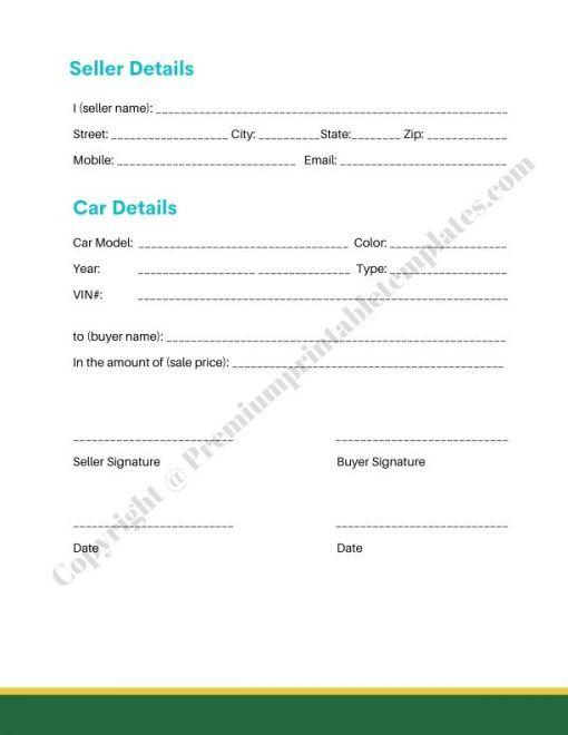 Sale Receipt Template Pdf Editable Premium Printable Templates Receipt Template Template Printable Templates