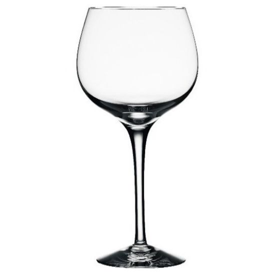 "Orrefors Crystal ""Illusion"" Burgundy Wine Glass"