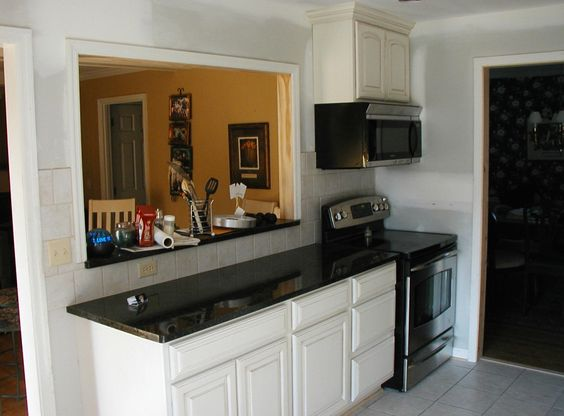 Kitchen Move Stove Microwave And Add A Pass Through 940 Pinterest Stove How To Design